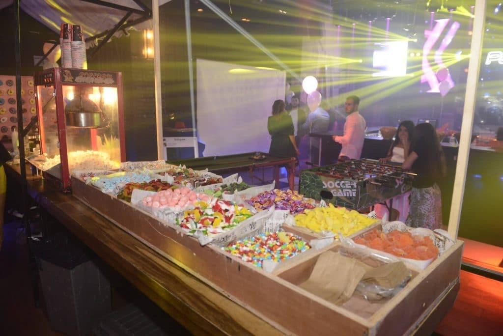 תמונה של בר ממתקים במועדון לבת מצווה בהרצליה