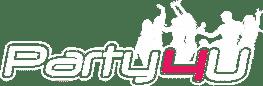 תמונה לוגו מועדונים לבת מצווה פארטי פור יו Party4U