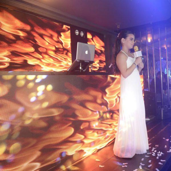 תמונה של כלת הבת מצווה שרה במועדון לבת מצווה